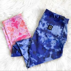 Jolyn Dryland! Martin Training Tie-Dye Leggings
